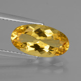thumb image of 2.3ct Oval Facet Yellow Golden Golden Beryl (ID: 436687)