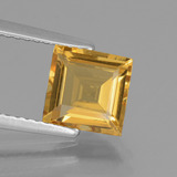 thumb image of 1.5ct Square Facet Yellow Golden Golden Beryl (ID: 436818)