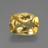 thumb image of 2.3ct Cushion-Cut Yellow Golden Golden Beryl (ID: 443504)