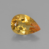 thumb image of 1.4ct Pear Facet Yellow Golden Golden Beryl (ID: 450825)