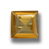 thumb image of 1.2ct Square Step-Cut Yellow Golden Beryl (ID: 458805)