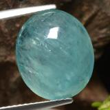 thumb image of 6.4ct Oval Cabochon Greenish-Blue Grandidierite (ID: 471871)