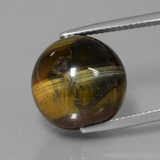 thumb image of 19ct Drilled Sphere Multicolor Hawk's Eye (ID: 422936)