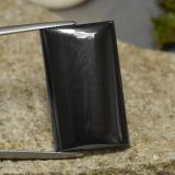 thumb image of 48.8ct Baguette Cabochon Black Gray Hematite (ID: 274816)