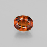 thumb image of 1.7ct Oval Facet Cinnamon Orange Hessonite Garnet (ID: 398824)