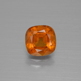 thumb image of 1.9ct Cushion-Cut Cinnamon Orange Hessonite Garnet (ID: 398889)