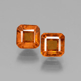 thumb image of 3.1ct Octagon Facet Cinnamon Orange Hessonite Garnet (ID: 431071)