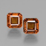 thumb image of 1.7ct Octagon Facet Cinnamon Orange Hessonite Garnet (ID: 431151)