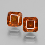 thumb image of 3.4ct Octagon Facet Cinnamon Orange Hessonite Garnet (ID: 431208)