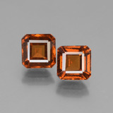 thumb image of 2.9ct Octagon Facet Cinnamon Orange Hessonite Garnet (ID: 431239)