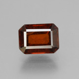 thumb image of 2.2ct Octagon Facet Cinnamon Orange Hessonite Garnet (ID: 431379)