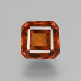 thumb image of 2.6ct Octagon Facet Cinnamon Orange Hessonite Garnet (ID: 431387)