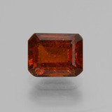thumb image of 2.3ct Octagon Facet Cinnamon Orange Hessonite Garnet (ID: 431388)