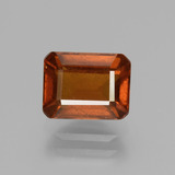 thumb image of 2.3ct Octagon Facet Cinnamon Orange Hessonite Garnet (ID: 431390)