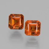 thumb image of 2ct Octagon Facet Cinnamon Orange Hessonite Garnet (ID: 431415)