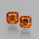 thumb image of 2.2ct Octagon Facet Cinnamon Orange Hessonite Garnet (ID: 431418)