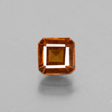 thumb image of 1.5ct Octagon Facet Cinnamon Orange Hessonite Garnet (ID: 431439)
