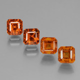 thumb image of 1ct Octagon Facet Cinnamon Orange Hessonite Garnet (ID: 431449)