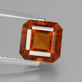 thumb image of 2.6ct Octagon Facet Cinnamon Orange Hessonite Garnet (ID: 431523)