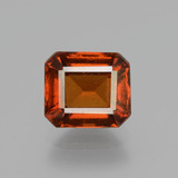 thumb image of 2.3ct Octagon Facet Cinnamon Orange Hessonite Garnet (ID: 431526)