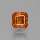thumb image of 0.9ct Octagon Facet Cinnamon Orange Hessonite Garnet (ID: 431627)