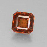 thumb image of 2.1ct Octagon Facet Cinnamon Orange Hessonite Garnet (ID: 431806)