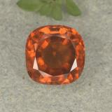 thumb image of 1.9ct Cushion-Cut Orange Hessonite Garnet (ID: 499234)