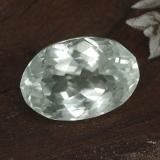 thumb image of 12ct Oval Facet Light Green Hiddenite (ID: 474745)