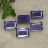 thumb image of 2.1ct Octagon Step Cut Violet Blue Iolite (ID: 279565)
