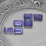 thumb image of 3.3ct Octagon Step Cut Violet Blue Iolite (ID: 279648)