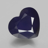 thumb image of 7.4ct Heart Facet Violet Blue Iolite (ID: 325525)