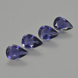 thumb image of 1.9ct Pear Facet Violet Blue Iolite (ID: 408896)