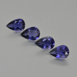 thumb image of 2ct Pear Facet Violet Blue Iolite (ID: 408904)