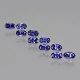 thumb image of 2.2ct Oval Facet Violet Blue Iolite (ID: 410453)