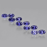 thumb image of 2.5ct Oval Facet Violet Blue Iolite (ID: 410458)