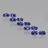 thumb image of 2.5ct Oval Facet Violet Blue Iolite (ID: 410459)