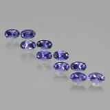 thumb image of 2.5ct Oval Facet Violet Blue Iolite (ID: 410460)