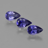 thumb image of 1.4ct Pear Facet Violet Blue Iolite (ID: 410644)