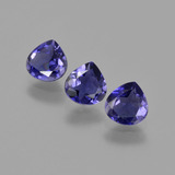 thumb image of 1.2ct Pear Facet Violet Blue Iolite (ID: 410645)