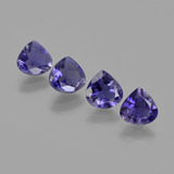 thumb image of 2.1ct Pear Facet Violet Blue Iolite (ID: 410649)