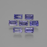 thumb image of 2.2ct Baguette Facet Violet Blue Iolite (ID: 412249)