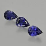 thumb image of 2.4ct Pear Facet Violet Blue Iolite (ID: 412734)