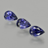 thumb image of 1.9ct Pear Facet Violet Blue Iolite (ID: 412736)