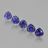 thumb image of 2.6ct Pear Facet Violet Blue Iolite (ID: 412889)