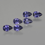 thumb image of 1.9ct Pear Facet Violet Blue Iolite (ID: 412890)