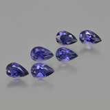thumb image of 2.2ct Pear Facet Violet Blue Iolite (ID: 412891)