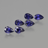 thumb image of 2.2ct Pear Facet Violet Blue Iolite (ID: 412892)