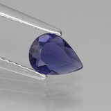 thumb image of 0.4ct Pear Facet Violet Blue Iolite (ID: 430173)