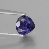 thumb image of 0.6ct Pear Facet Violet Blue Iolite (ID: 430656)