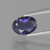 thumb image of 0.5ct Oval Facet Violet Blue Iolite (ID: 430805)